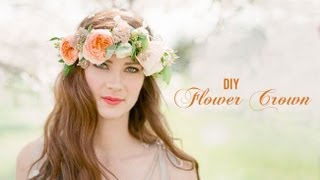 DIY Flower Crown Thumbnail