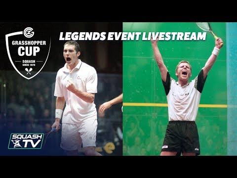 Squash: Legends Event Finals - Grasshopper Cup 2018