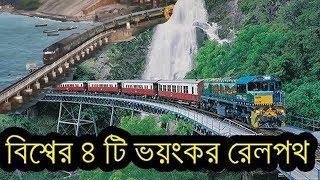 MOST DANGEROUS RAIL ROUTE IN THE WORLD BANGLADESH RAILWAY PERU TRAIN ACCIDENT SRILANKA BURMA