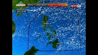 NTVL: Weather update as of 9:58 a.m. (February 17, 2018)