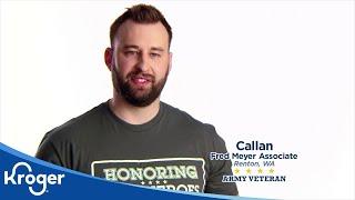 Honoring our Heroes, Veterans Bakers│VIDEO │Kroger