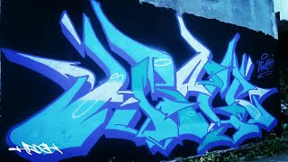 Graffiti indonesia - HROCK - Wildstyle - Ramadhan berkah!!!