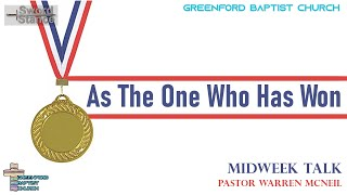 65) Sword Stance - As The One Who Has Won - Pastor Warren McNeil