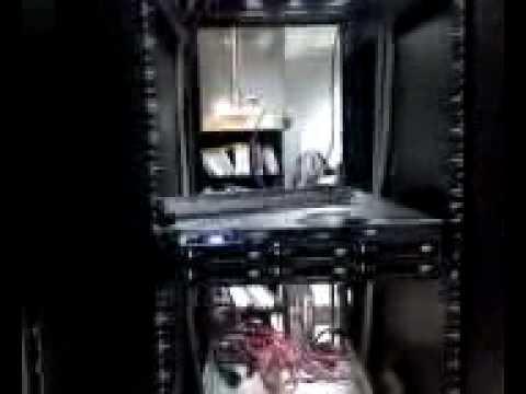 Server room poltergeist