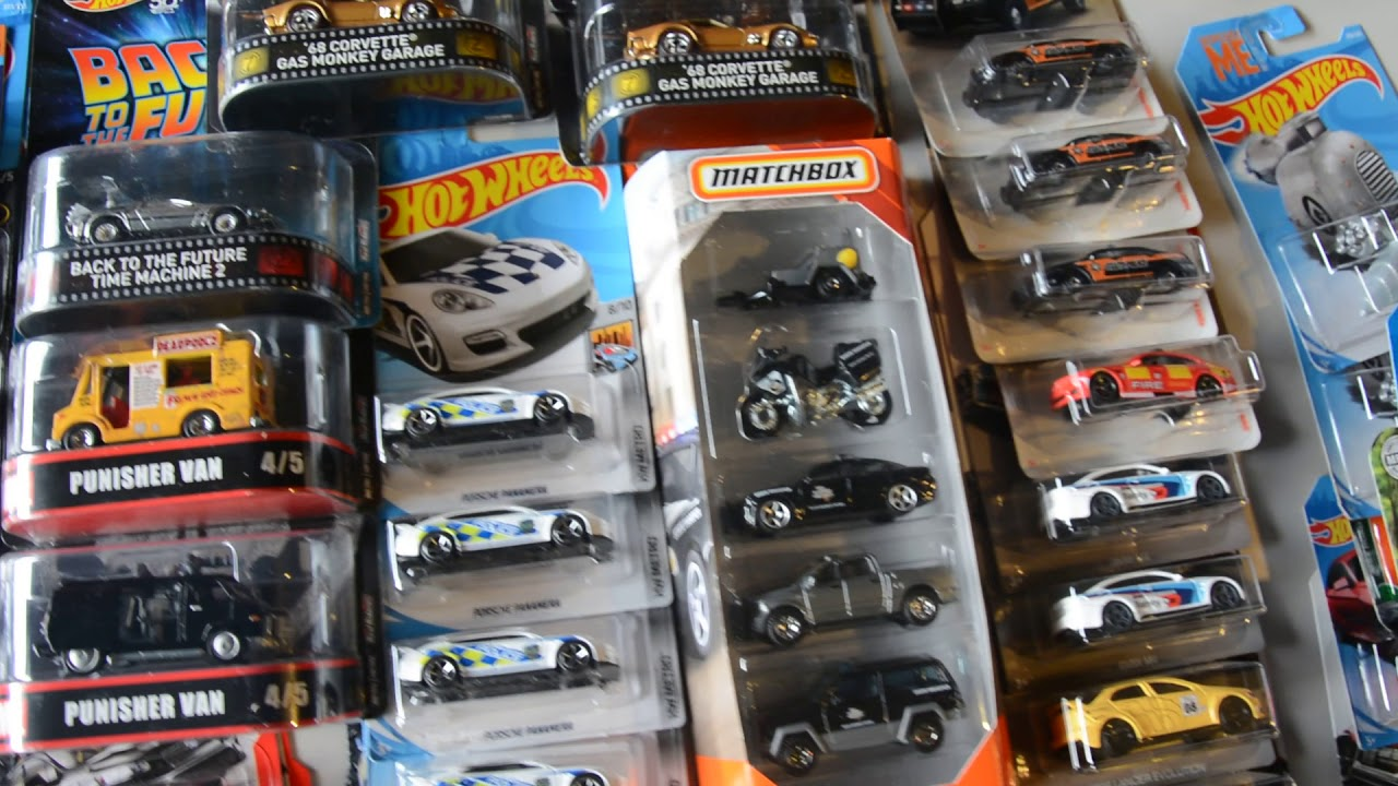 New Hot Wheels Car Culture Entertainment and mainline 2018- 2019