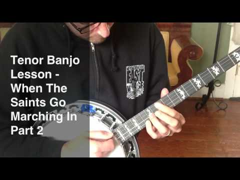 Tenor Banjo Lesson - How To Build a Chord Melody