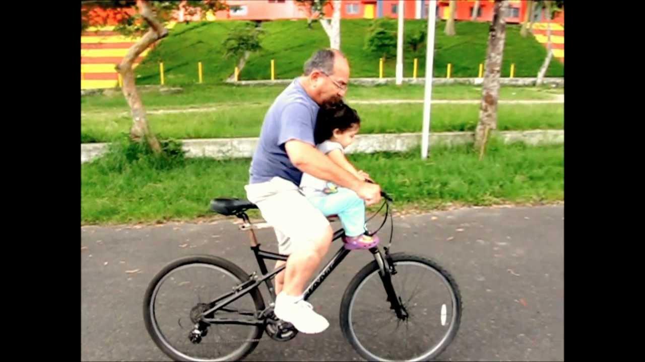 Sillin de ni o para bicicleta artesanal youtube - Sillas para bicicletas para ninos ...