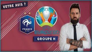 TIRAGE AU SORT EURO 2020 - LA FRANCE A UN GROUPE D'EUROVISION ! VOTRE AVIS ! / 02-12-2018