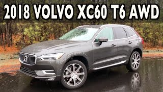 2018 Volvo XC60 Review in the Rain on Everyman Driver