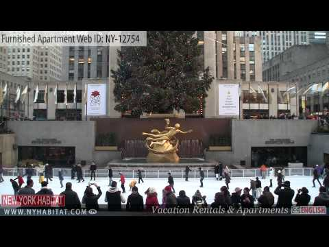 New York City - Video Tour Of A Furnished Apartment On West 51st Street (Midtown West - Manhattan)