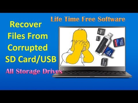 Recover data from all type devices (Usb,Memory C,Hard)||Install Life Time Free Software Latest 2018