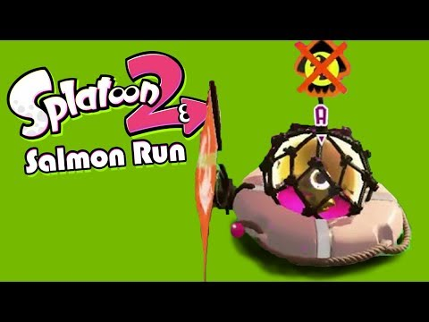 Low Tide, Schmow Tide (Splatoon 2 Salmon Run Funny Moments)