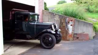 KP Restoration & Repair, 1930 Ford model AA dump truck finished