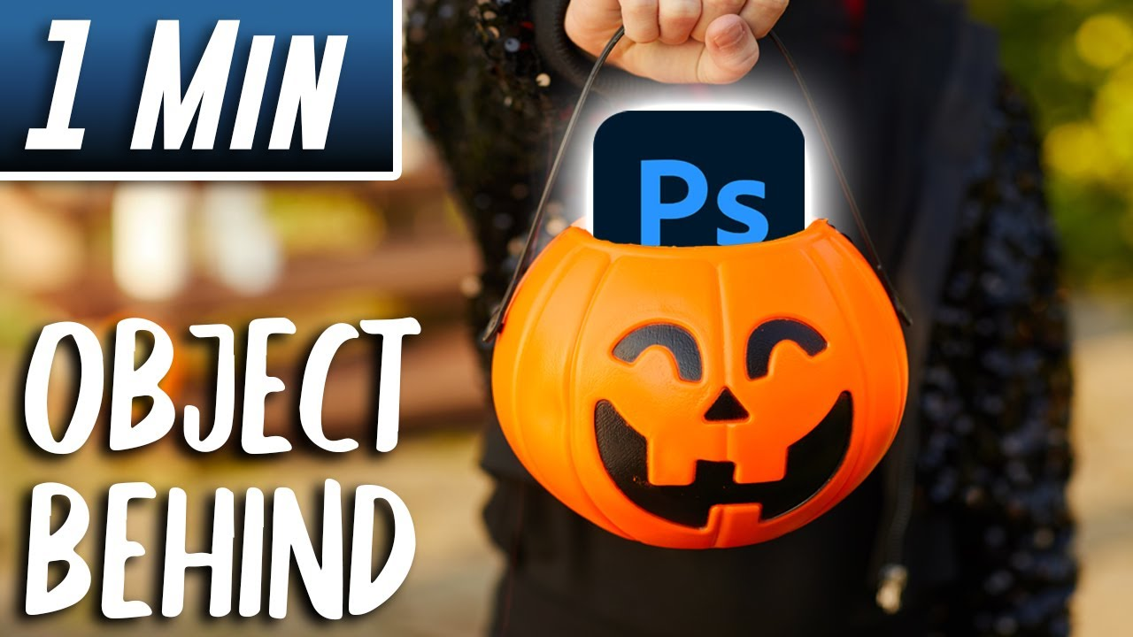 Photoshop : How to Put an Object behind Another (Fast Tutorial)