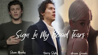 ''SIGN IN MY BLOOD TEARS'' | MASHUP feat. Shawn Mendes,Harry Styles & Ariana Grande