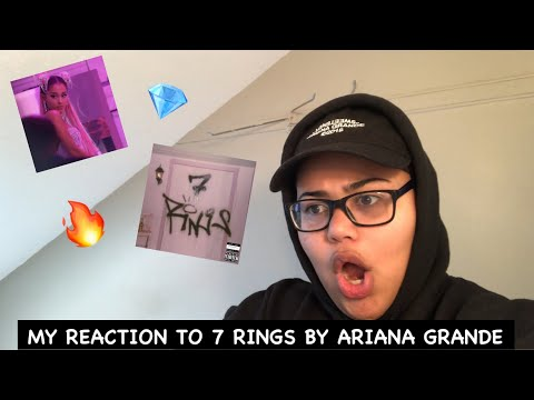 My Reaction To 7 Rings by Ariana Grande 💎