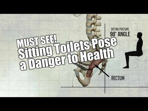 MUST SEE! Sitting Toilets Pose a Danger to Health - #Health