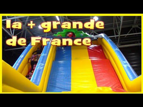 FUN INDOOR à Dynamic Land # aire de jeux-accrobranche et tobogan gonflable