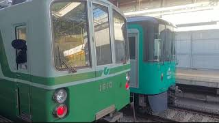【電車】神戸市営地下鉄 休日の妙法寺駅の日常