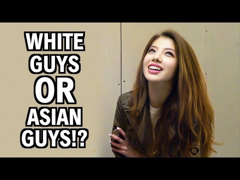Asian guy white chick