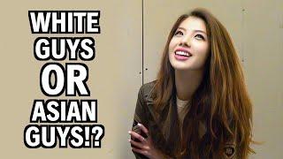 Do Asian Girls Prefer White Guys OR Asian Guys!?