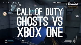 Call of Duty Ghosts vs Xbox One Party System vs Outside Xbox - Let