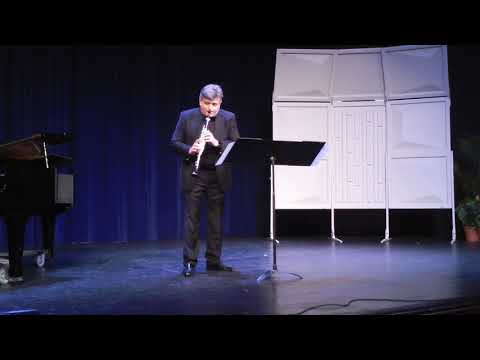Gestures for solo clarinet (2016) by Dimitar Ninov (Texas State University)