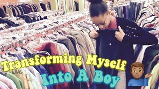 Transforming Myself Into A Boy!!!!