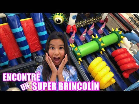 ENCONTRE UN BRINCOLIN INFLABLE GIGANTE | TV Ana Emilia