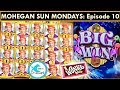 Back to Back Bonus! Wonka Dream Factory Slot Machine - Mohegan Sun Mondays Ep.10!