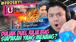 DITANTANG BY1 KING OF BUG! KALAH = BANNED CHAR!??