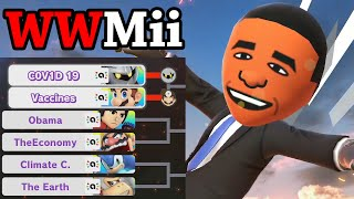 I resolved every Global Issue through Smash Bros - WWMii