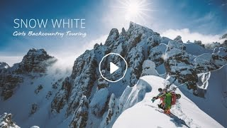 Snow White: Girls Backcountry Touring | VAUDE