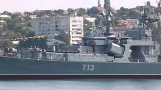 Морской парад в Севастополе - День ВМФ 2013(Небольшое видео со дня ВМФ в 2013 г. в Севастополе. Видео небольшое, так как в основном снимал на фото. http://www.yapla..., 2013-07-28T18:09:54.000Z)