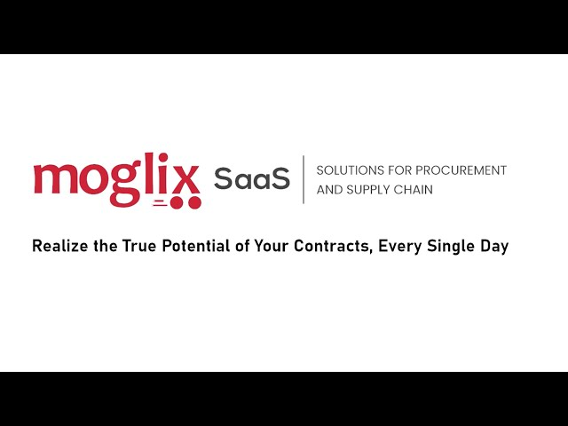 Moglix SaaS: Contracting Solutions for Procurement Excellence