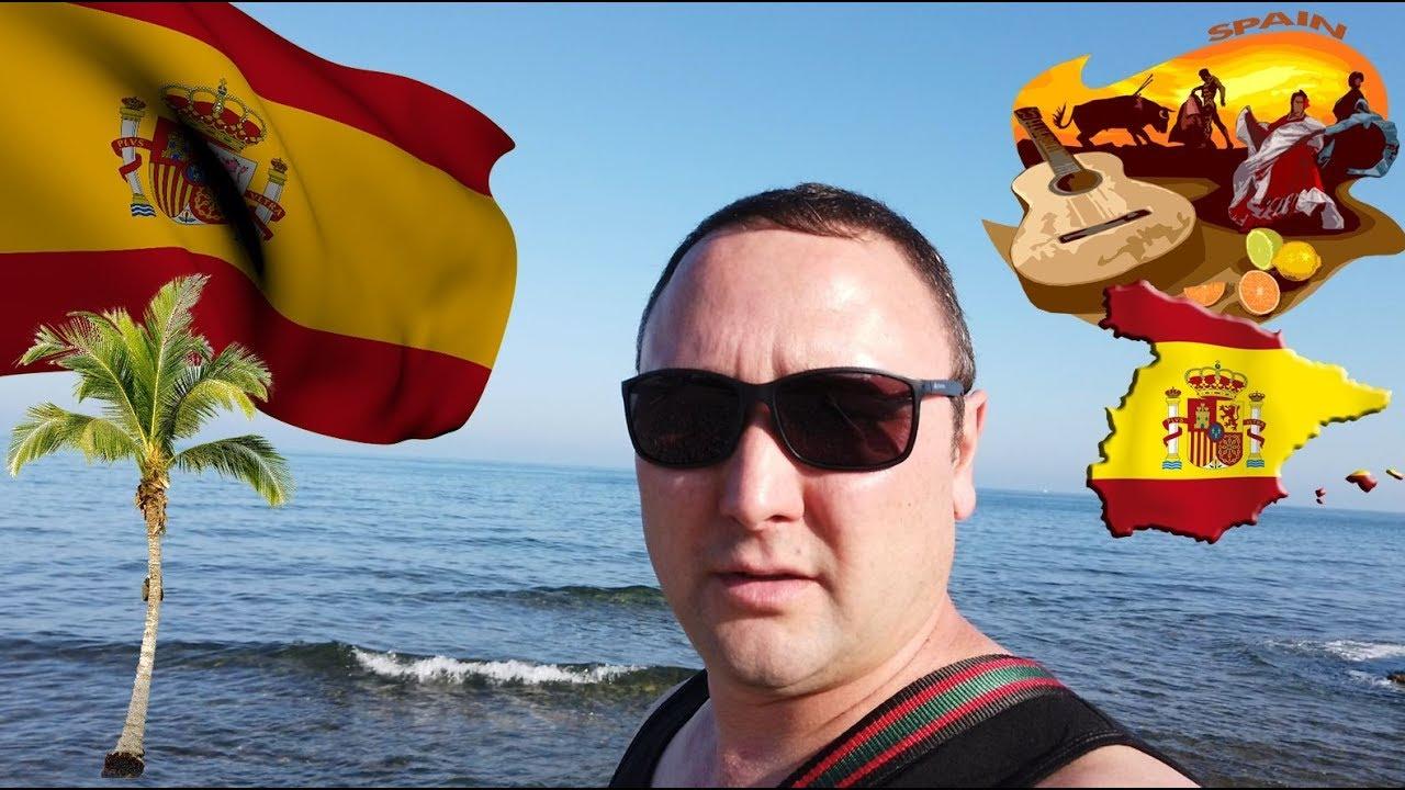 Золотой берег Испании грузчик на отдыхе.