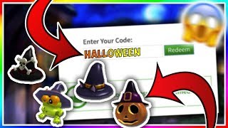 *HALLOWEEN* NEW FREE ITEMS!! - ROBLOX PROMO CODES 2019!! TRICK OR TREAT CODE