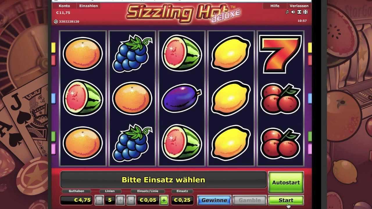 Sizzling Hot Spiele