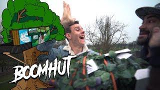 BOOMHUT BOUWEN #5 HIJ IS AF! (LAATSTE VIDEO)