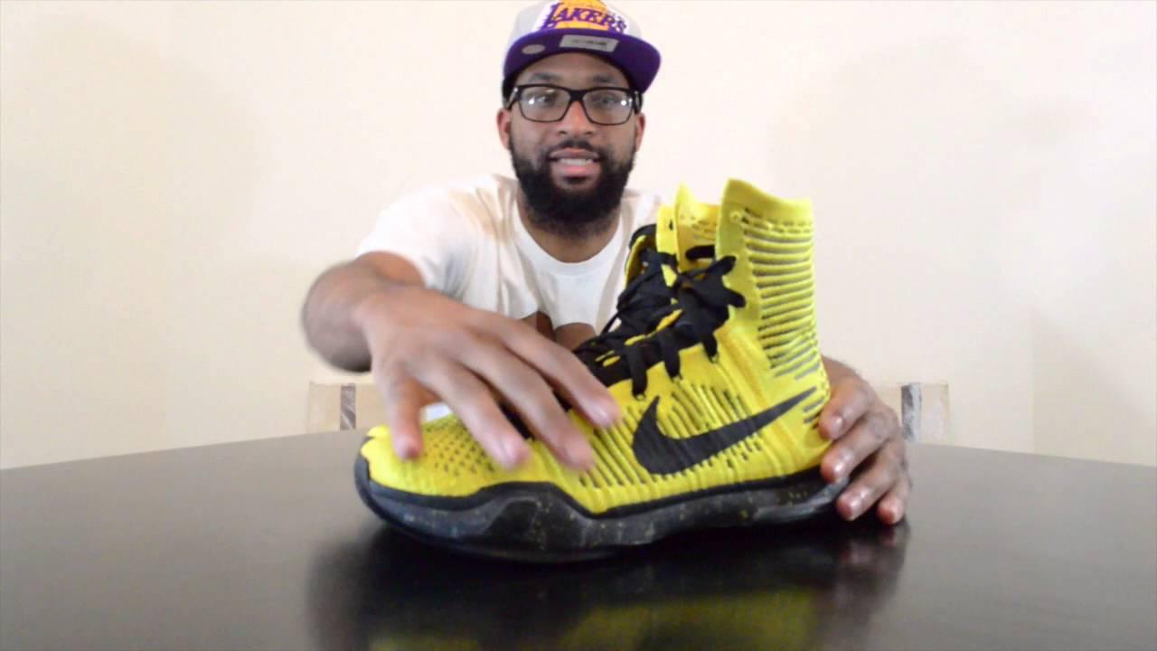 c230df29bbbe Nike Kobe X (10) Elite High Top Coda - YouTube