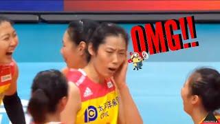 Zhu Ting's reaction when  Yuan Xinyue screaming near her ear!!