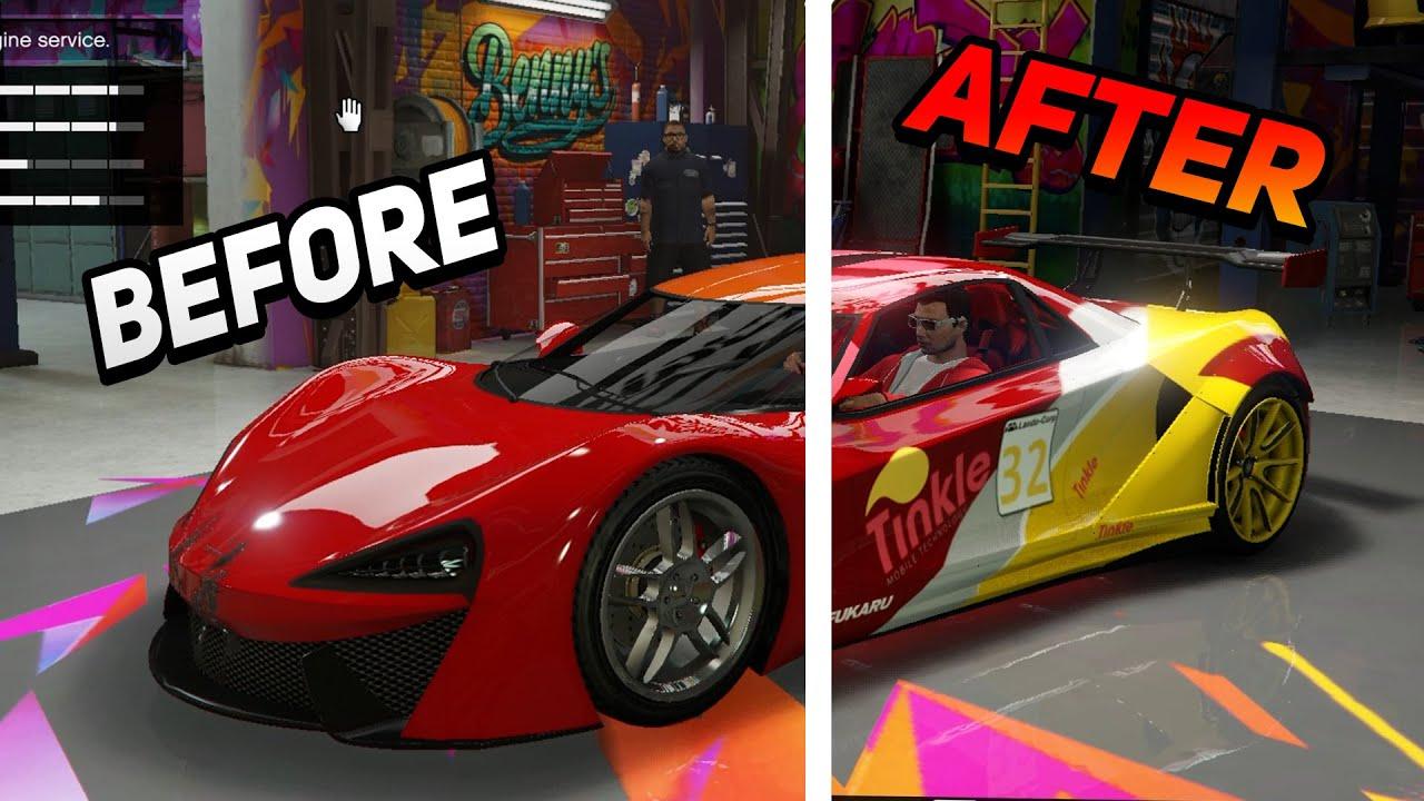 მანქანის გამარიაჟება და GOLD DIGGER PRANK | GTA 5
