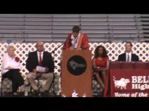 Bellville High School  Salutatorian Song 2013