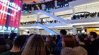 Stand UP выступление в торговом центре ривьера тц в москве стендап звёзды тнт с камеди клаба comedy