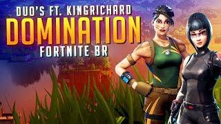 aimbotcalvin - FORTNITE DUO'S FT. KINGRICHARD!!