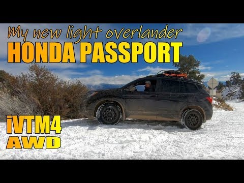 2019 Honda Passport Offroad - Purchase and Trail footage (I'm a trader)
