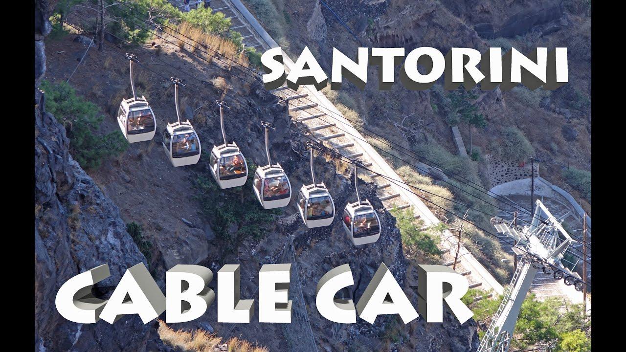 SANTORINI Cable Car Santorini K YouTube - Cool cars santorini