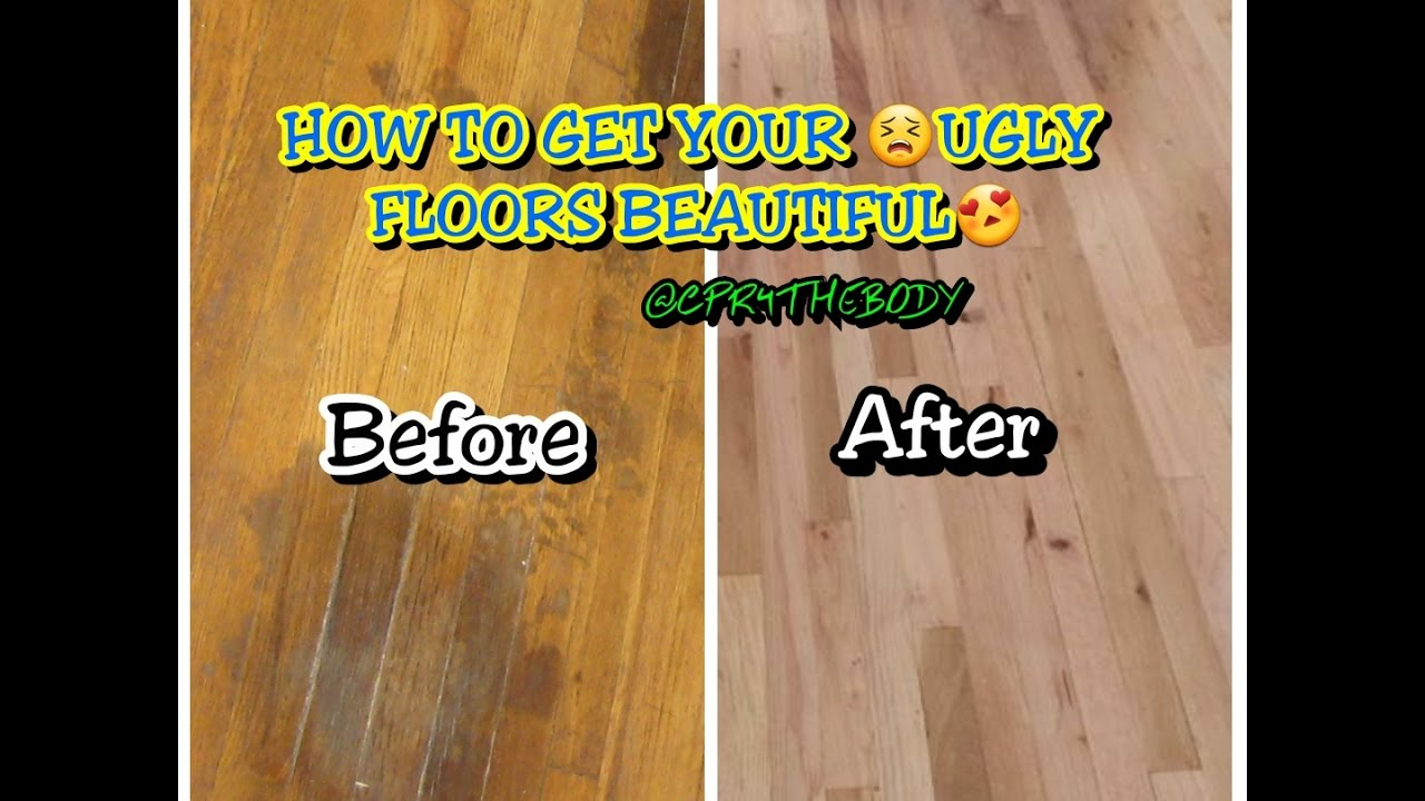 How To Diy And Remove Hardwood Floor Stains For 88 Cents