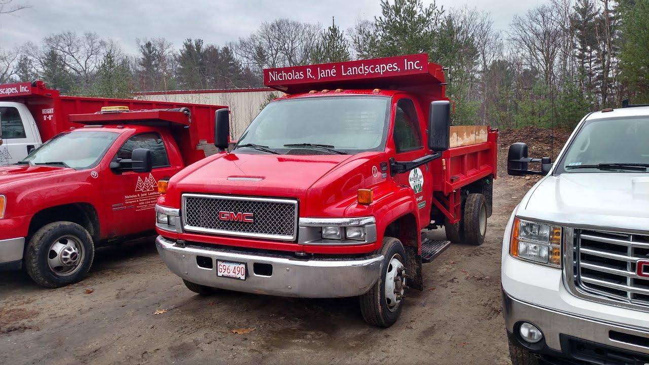GMC Topkick 4500 Dump Truck Walk Around - YouTube