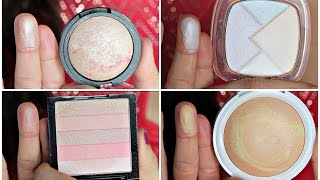 Fast Five: Top 5 Drugstore Highlighters | Swatches